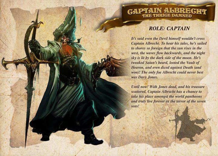 Captain Albrecht - Rum and bones