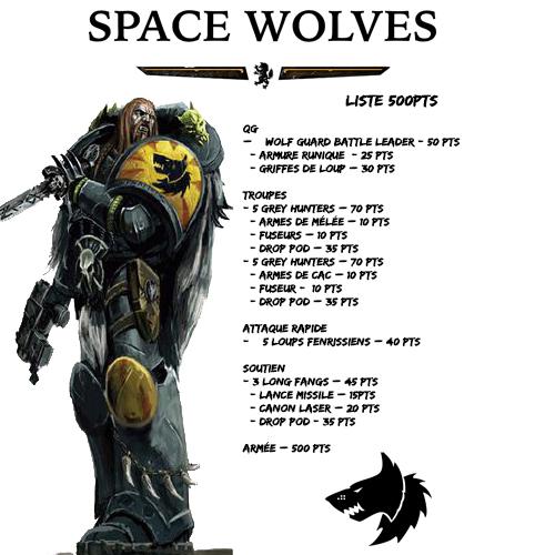 liste Space Wolves - CAA1