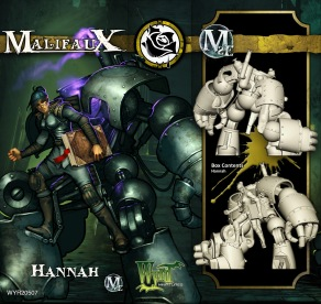 Hannah - Outcasts - Malifaux
