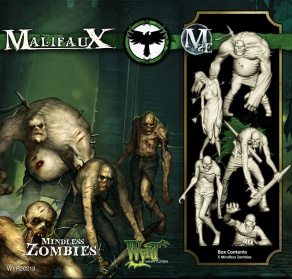 Mindless Zombies - Resurrectionists - Malifaux
