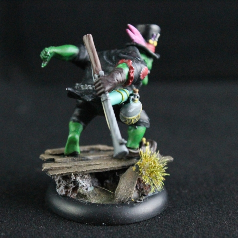 Som'Er Teeth Jones - Dos - Gremlins - Malifaux - Mini-Nerd