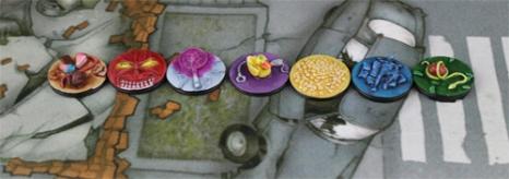 Marqueurs Péchés capitaux - Anges de Dante - Eden The Game - Mini Nerd