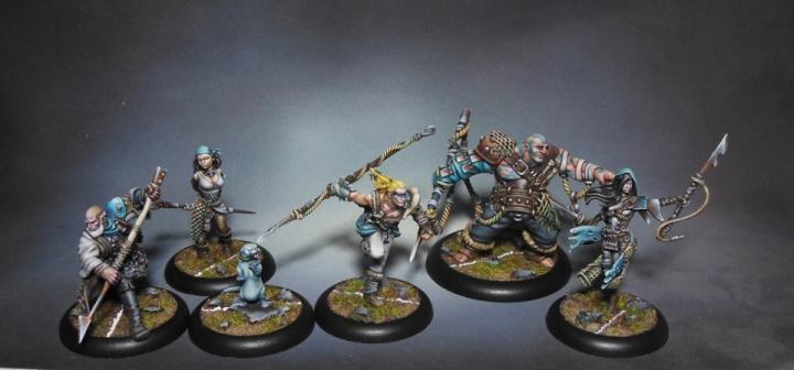 Fishermen - Dark Iron Studio - Guild Ball