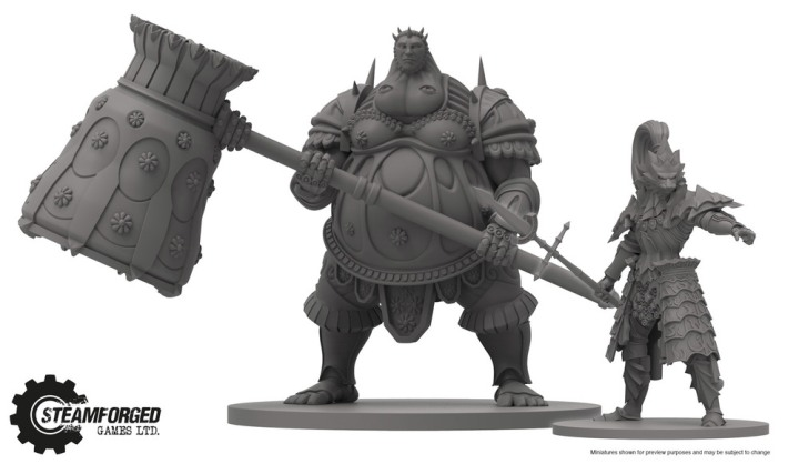 Miniatures - Dark Souls Boardgame - Steamforged Games