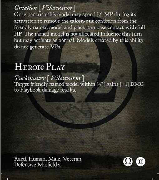 Veteran Grave - Traits - Mortician - GuildBall